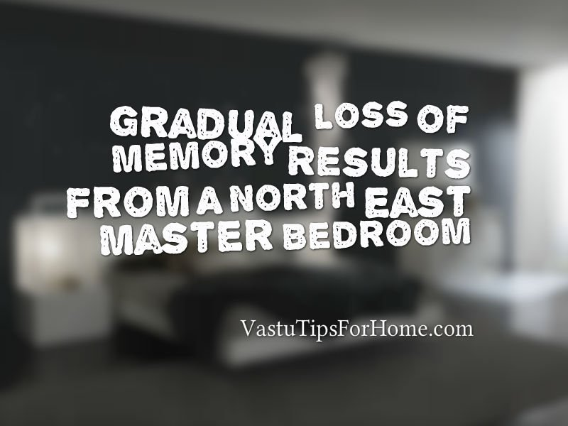 Vastu Shastra for Master Bedroom in North East