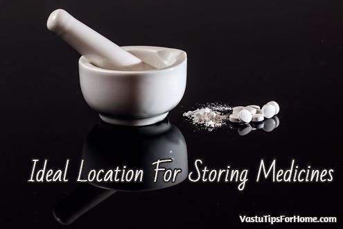 Ideal Location For Storing Medicines as Per Vastu Shastra