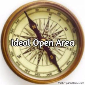 Ideal Open Area According to Vastu Shastra
