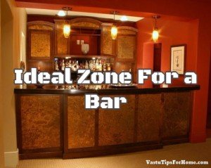 Ideal Zone For a Bar As Per Vastu Shastra